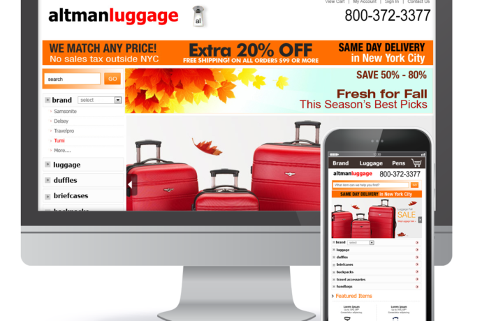 Altman Luggage NYC